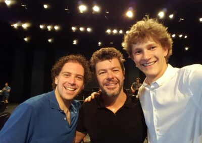 While assisting Pablo Heras Casado and Jan Lisiecki