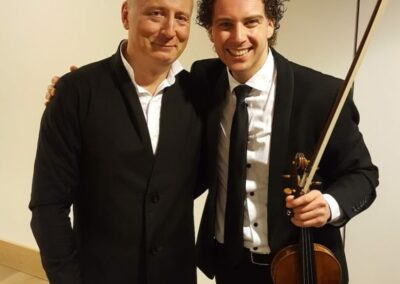 With Paavo Järvi after concert in Elbphilharmonie 2018